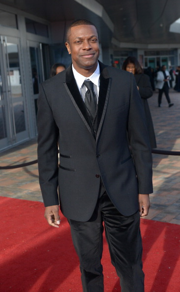 Chris Tucker attends the 2014 Trumpet Awards. (Paras Griffin/Getty Images)