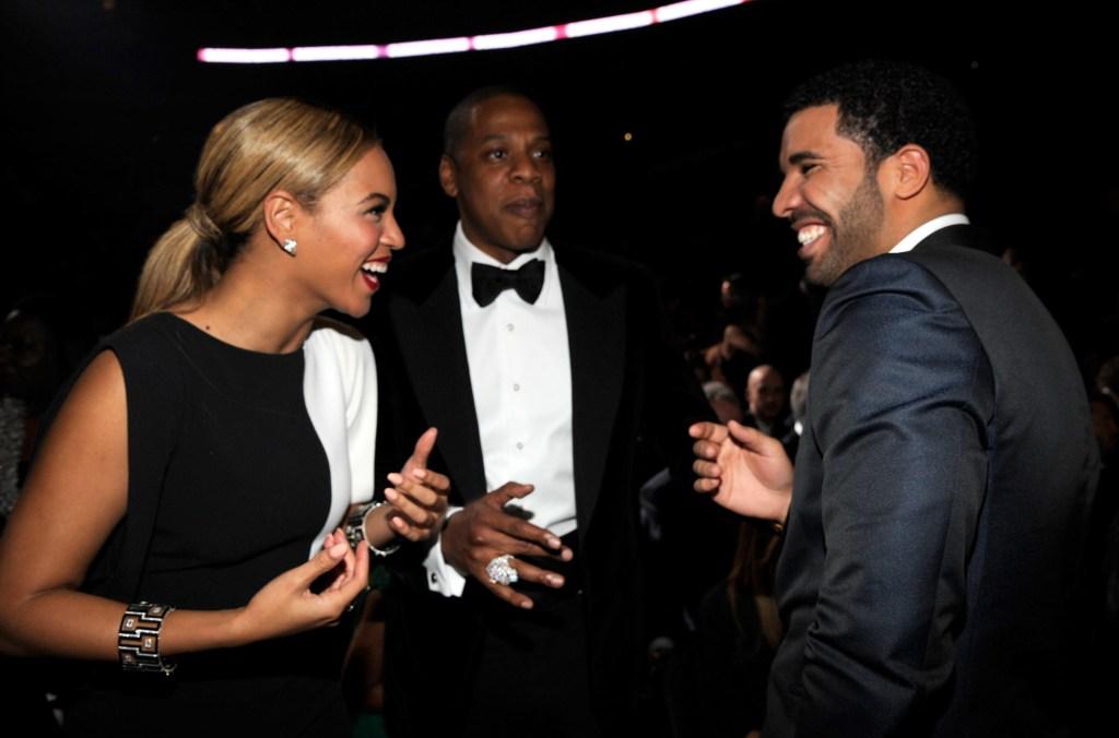 Drake, Beyonce, Jay Z