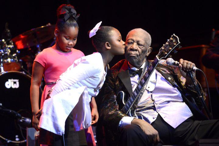 B.B. King In Concert - Napa, CA