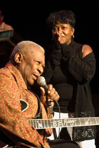B.B. King And The Robert Cray Band Perform At The DTE Energy Center