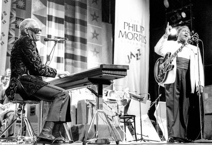 Charles & King At The Apollo