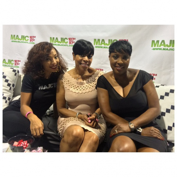 Maria More, Shirley and Carla from SHMS
