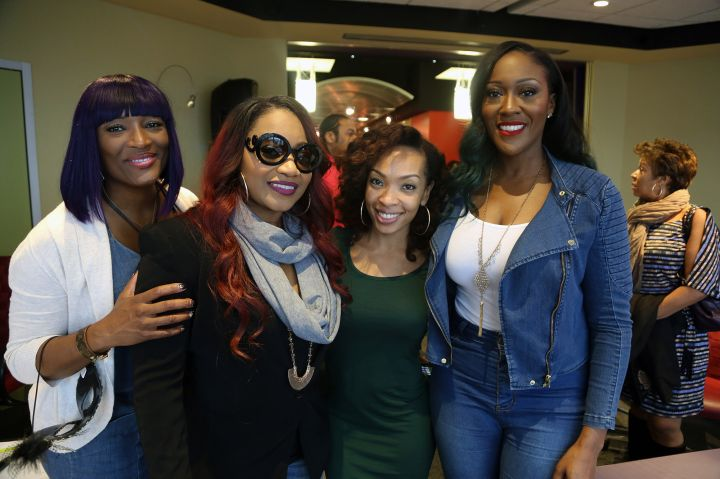 Maria More with SWV