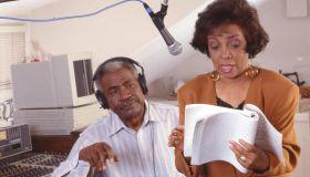 Dee & Davis In The Studio