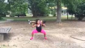 Maria More toddler workout
