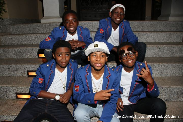 The Cast of New Edition
