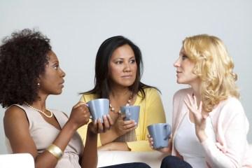 Diverse Group of Women Talking
