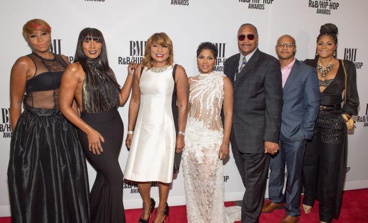 The Braxtons at 2016 BMI R&B/Hip-Hop Awards