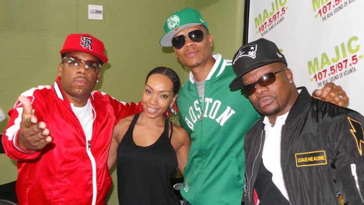 Maria More with Bell Biv Devoe