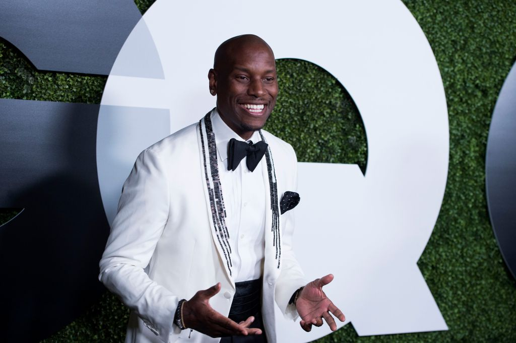 Tyrese Is Married Wife Photo Inside