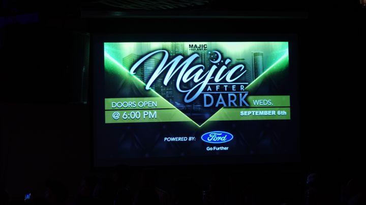 Majic After Dark 9/7/2017