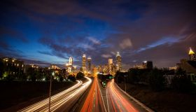 iconic Atlanta city view