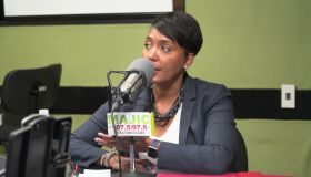 Keisha Lance Bottoms Majic 107.5/97.5 Studio