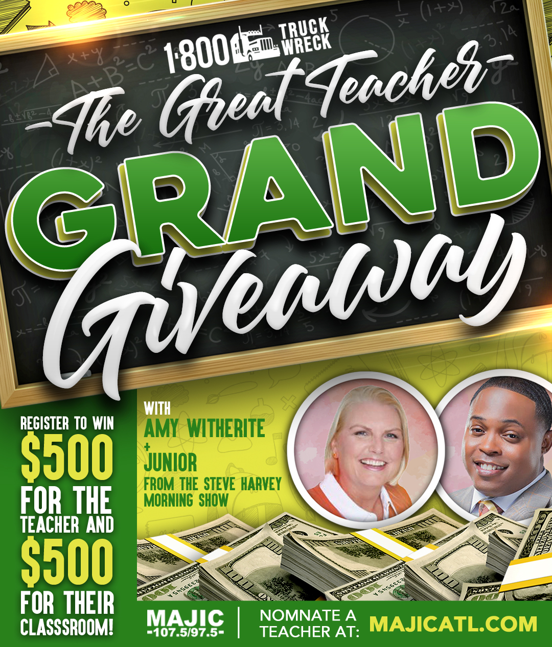 The Great Grand Teacher Giveaway