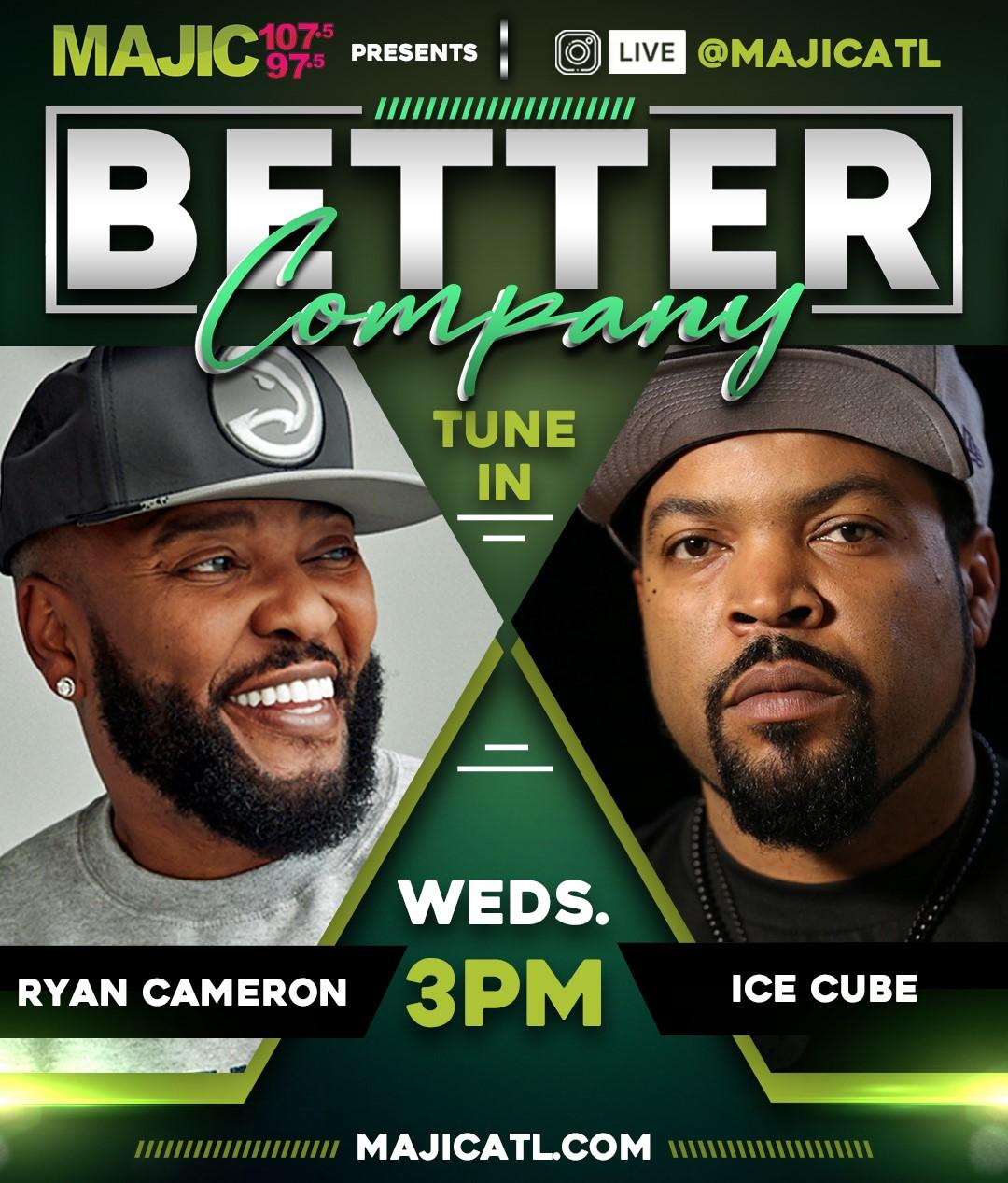 Ice Cube with Ryan Cameron