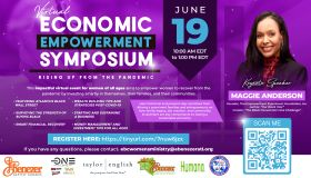 Ebenzer Baptist Church   Virtual Economic Empowerment Symposium