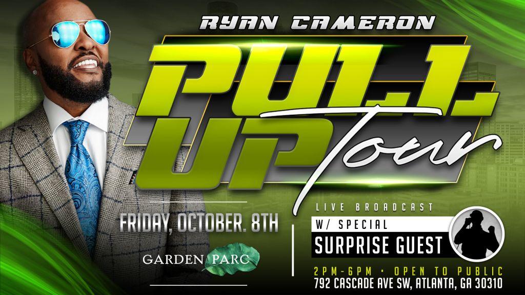 Ryan Cameron Pull Up Tour Oct.8 Majic