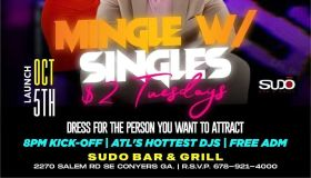Sudo Bar And Grill | Mingle With Singles $2 Tuesdays