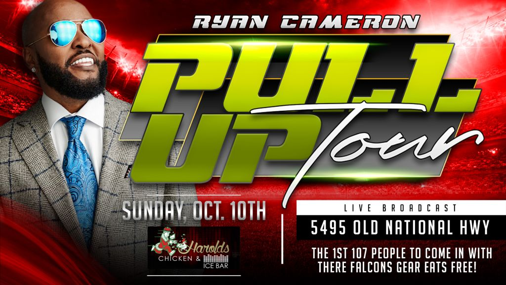 Ryan Cameron Pull Up Tour 10 10 2021
