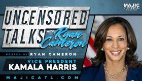 Ryan Cameron Exclusive Interview With Kamala Harris! [Listen]